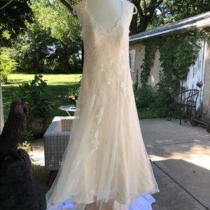 Rebecca Ingram Piper Wedding Gown Dress 4 6